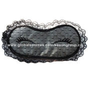 100% polyester, cotton, fashionable eye masks for sale