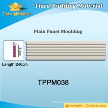 Multi-Color PU panel de pared de moldeo con materiales de alta calidad