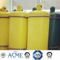 100L90kg Medium Pressure Steel Welding Gas Cylinder for Hf