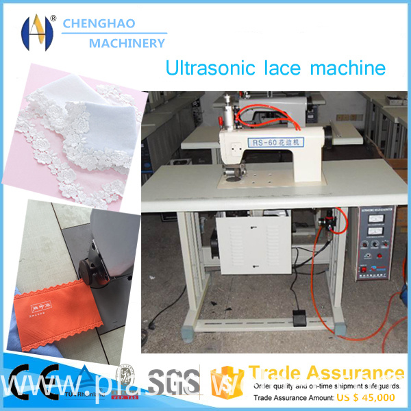 200mm Ultrasonic Lace Machine