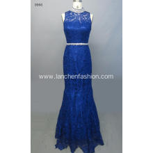 Sleeveless Beaded Elegant Formal Dress