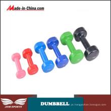 Treinamento de haltere com haltere dividido para força e adequação Extensão de tríceps