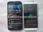 S4 I9500 5inch Dual Micro Sim Card Mtk6589 Cell Phone