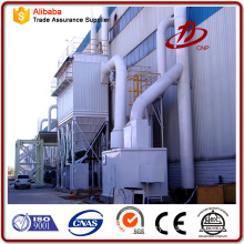 Grinder dust collector pulse bag filters