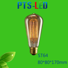 St64 4W 6W 8W 400-900lm Dimmable LED Filament Bulb