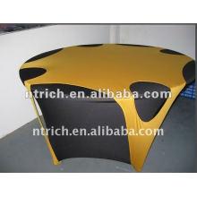 New style Lycra/spandex tissu/couverture de table, chemin de table