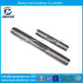 China Supplier DIN835 aço inoxidável dupla final rosca Studs