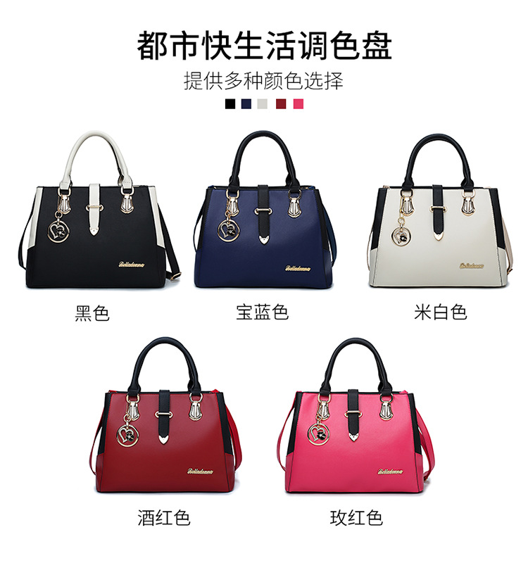 suppliers promotional top quality fashion leather handbag