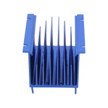 Aluminum Heatsink Extrusion Profile CNC Machining Parts Anodizing Black for UPS Power Supply
