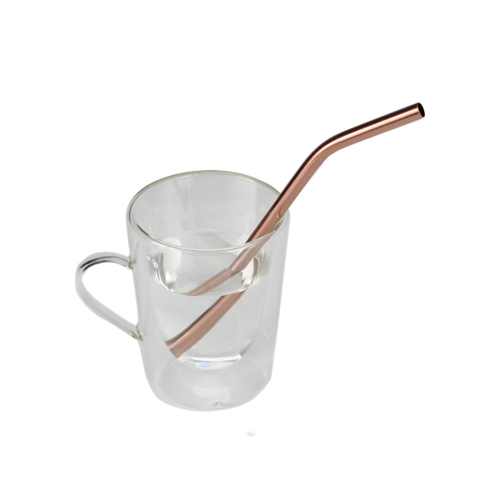 Copper Food Grade Stainless Steel Drinking Set