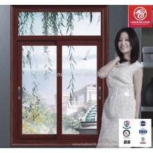 Janelas e portas de madeira deslizantes de design de moda com melhor preço e preço competitivo