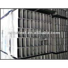 Passé SGS Test Pre Galvanized Square Steel Pipe