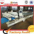 High-end Glazed Tile Forming Machine Membuat Melangkah Atap Lembar