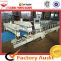 High-end Glazed Tile Forming Machine Making Stepped Roofing Sheet