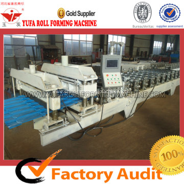 OEM/ODM for Glazed Tile Forming Machine YF Metal Sheet Glazed Roofing Forming Machine supply to Libya Manufacturer