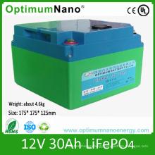 12V 30ah High Energy Lithium Battery for Electric Bike