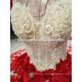 2018 Neueste Brautkleid Designs Puffy Brautkleider rot Luxus Brautkleid