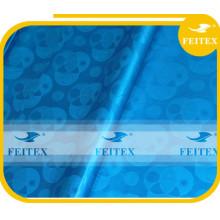 Tela de brocado africano al por mayor bazin riche shadda de algodón FEITEX