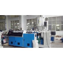 Extrusor de solo tornillo de la máquina de la granulación de los PP PE