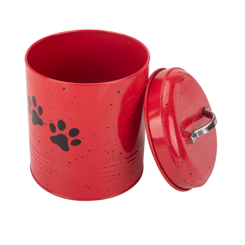 Red Pet Food Box