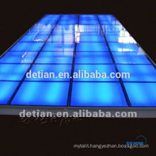 Lighting glass floor,lighting platform,lighting stage for trade show from Shanghai