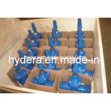Schieber für PVC-Rohr