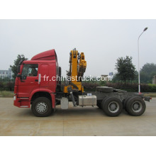 Howo Tractor Truck Grue montée XCMG 12T