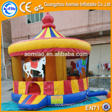 Christmas carousel inflatable jumper castle for sale