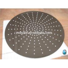 Banheiro de diamante de 200 mm usa chuveiros de chuva de latão