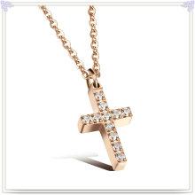 Collar de moda Collar de joyería de acero inoxidable (NK1029)