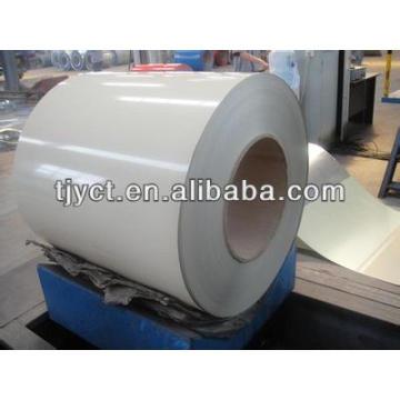White coated Aluminium coil for APC