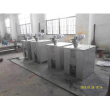Dry powder hydraulic roller press machine