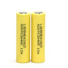 Lghe4 Li-Ionen-Akku 3.7V 2500mAh Lithium-Ionen Wiederaufladbare Lghe4 für E-Zigarette
