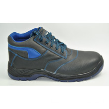 Safety Shoes with Steel Toe and Steel Plate PU Injection Outsole S1p