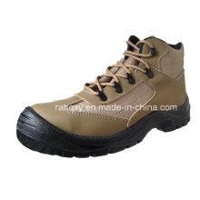 Новый стиль Crazy Horse безопасность туфли (HQ03053)