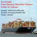 Sea freight from Shantou to Dar Es Salaam