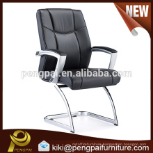 Executive modern steel metal leather office chair