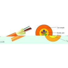 Câble 4 fibres optiques de base