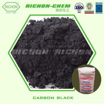 O aditivo químico de borracha CAS de RICHON NENHUM 1333-86-4 nanotubes de carbono do preto de carbono