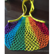 Umweltfreundliche wiederverwendbare Einkaufstasche aus Bio-Baumwolle