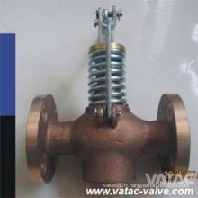 JIS F7398 Bronze / laiton en laiton automatique vanne de vidange Fabricant