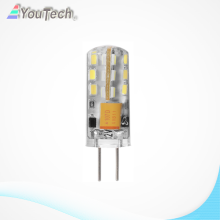 Dimmable 2w led g4 silicon bulb light