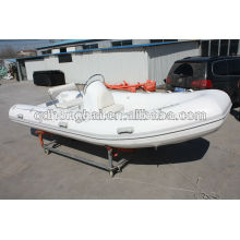 RIB boat CE inflatable boat pvc fishing boat