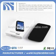 Etui pour Samsung Galaxy S3 III i9300 3200mAh Noir
