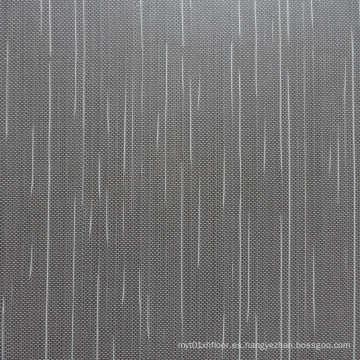 Baldosa de PVC para el suelo hecha de materiales vírgenes
