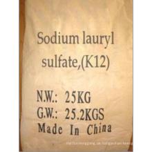 Hohe Qualität 95% Natriumlaurylsulfat (SLS, K12)