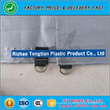 Hoja de malla revestida de 750D insonoro / incombustible del PVC para la construcción