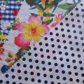 Hot sale cotton nylon blend digital printed fabric