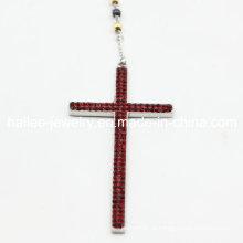 Moda de aço inoxidável Camo camuflagem cruz pendente jóias