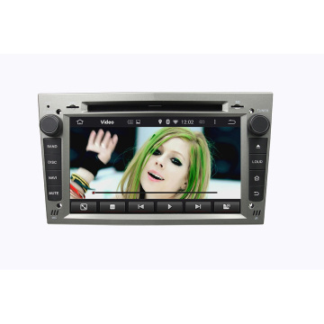 Silver Opel car dvd player for MERIVA 2006-2011